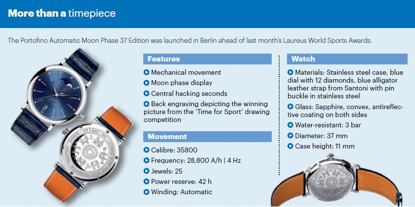 Portofino-timepiece-Laureus-IWC