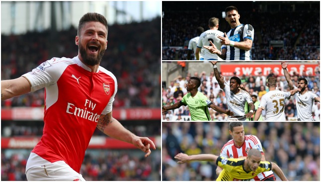 A round-up of Sunday's Premier League action.