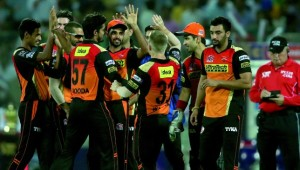 Sunrisers are just one match away from an IPL final.