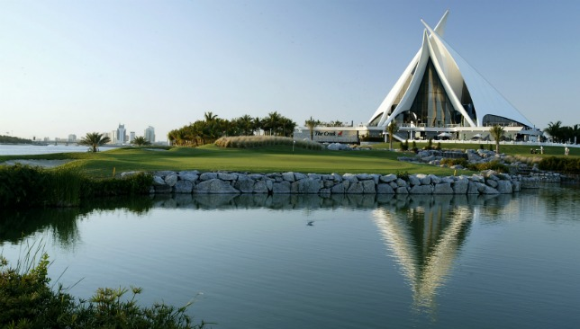 Dubai Creek Golf and Yacht Club.