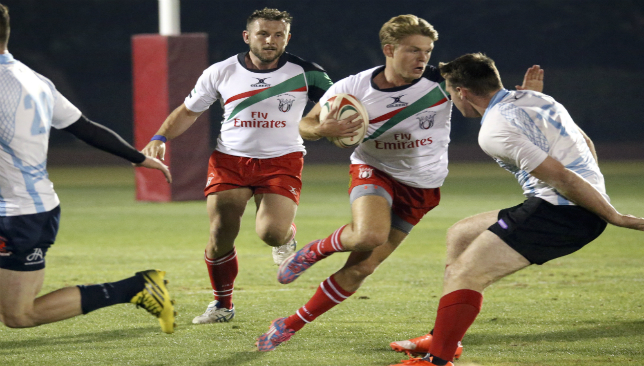 Dubai Exiles' Charlie Sargent has capped a fine season with a UAE call-up