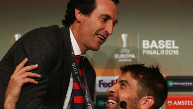 Winner: Unai Emery has enjoyed success in the Europa League