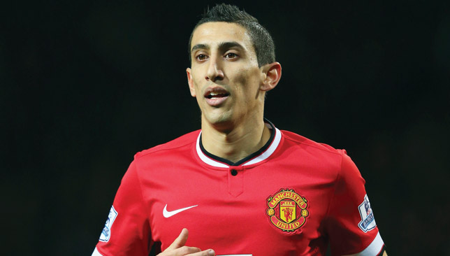 United parted with big money to acquire Di Maria - but he flopped.