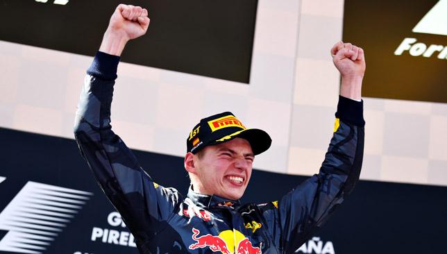 Verstappen has won five races in F1 so far.