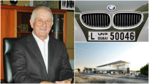 Stathis (l) has overseen huge growth for BMW in the UAE.