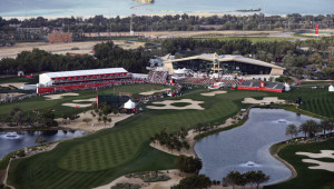 The Abu Dhabi Golf Club in all its glory.