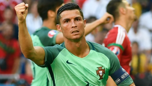 Ronaldo was in inspired form in a 3-3 draw in Lyon.