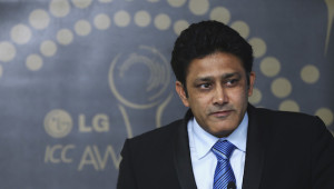 In command: Anil Kumble.