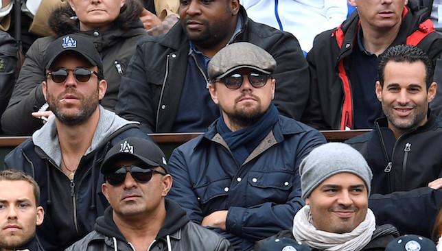 Star power: Leonardo diCaprio