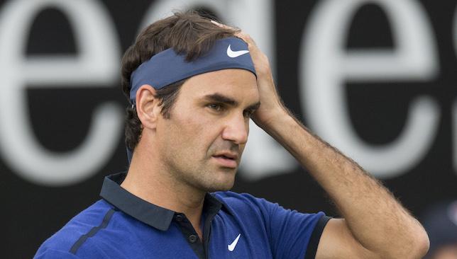 Hero: Roger Federer.
