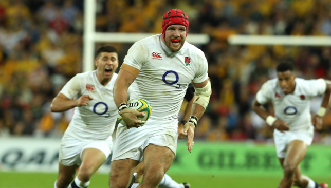 James Haskell.