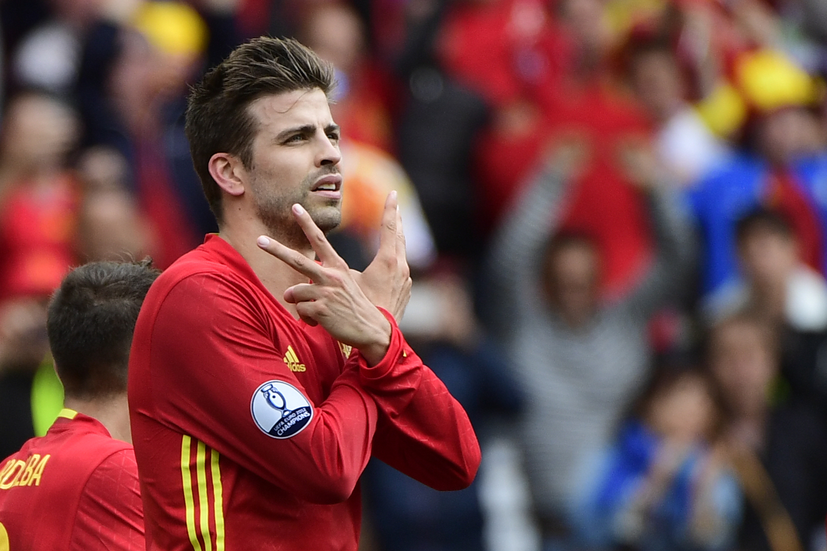 Euro 2016 Player of the Day Gerard Pique Spain Article Sport360