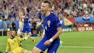 Ivan Perisic netted a superb winner against Spain.