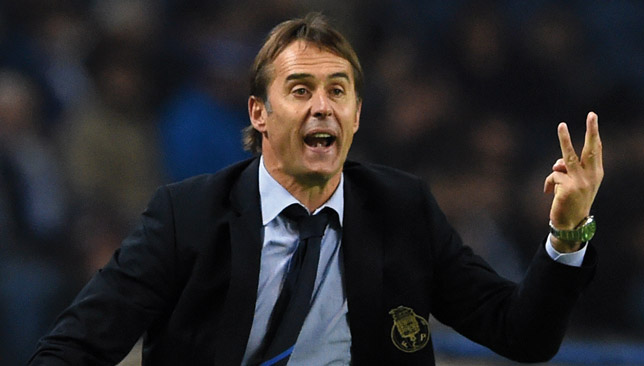 Julen Lopetegui was sacked by Spain on the eve of the World Cup.
