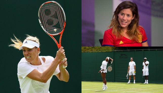 Our tennis expert Reem Abulleil has been behind the scenes at SW19.