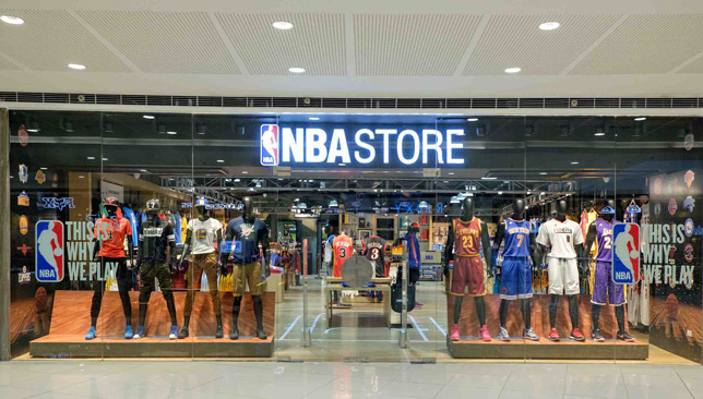 NBA to open first stores in the Middle East 2b6baa21b6