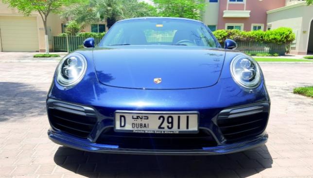 Porsche 911 Turbo Front View