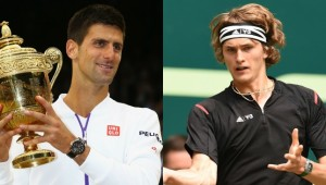 All eyes will be on Novak Djokovic while young star Alexander Zverev is causing a stir.