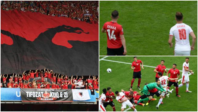 Albania 0 1 Switzerland The Eagle Has Landed Schar Denfreude And Xhaka Vs Article Sport360