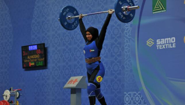 UAE female weightlifting team awarded Olympics spot