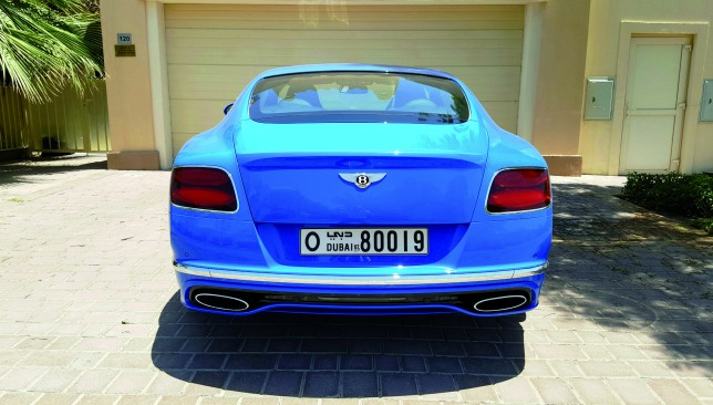 bentley-continental-GT-speed-back-view