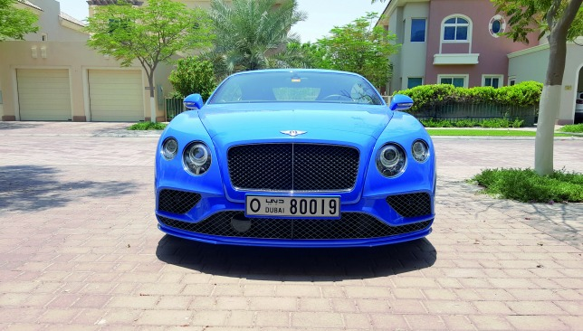 bentley-continental-GT-speed-front-on-image
