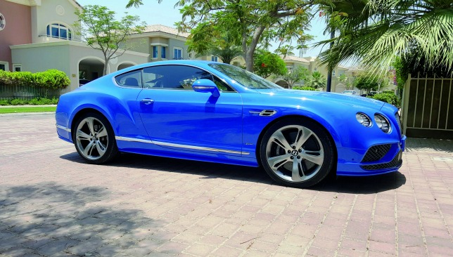 bentley-continental-GT-speed-sideview