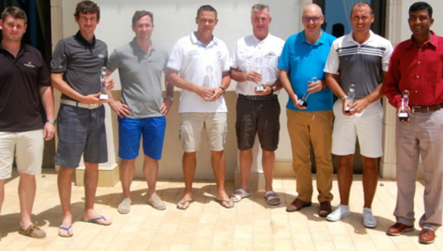 The Champions of the first Summer Swing at Abu Dhabi.