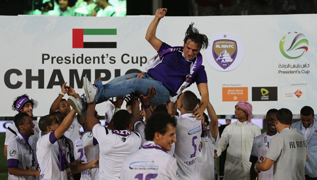 Dalic won three trophies at Al Ain, but he was uprooted from the Garden City in January 2017.