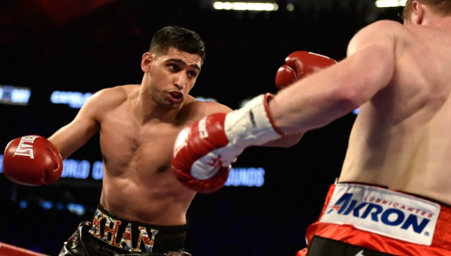 Khan is prepared to take on any challenge placed in front of him.