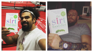 David Haye and Conor McGregor: Sirtfood advocates.