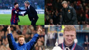 Moyes' managerial career in pictures.