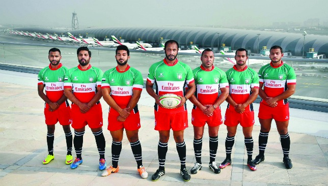 Soaring: Emirates has extended its sponsorship of the UAE's rugby teams.