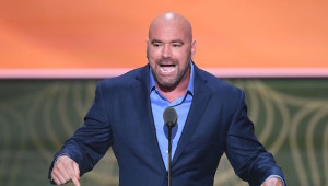 Speaking out: Dana White.