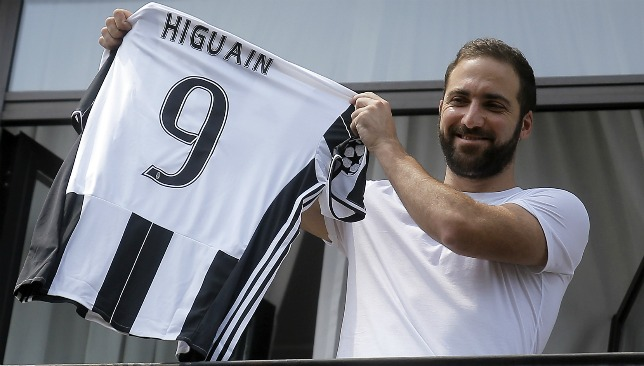 Higuain is the third most expensive player of all time.