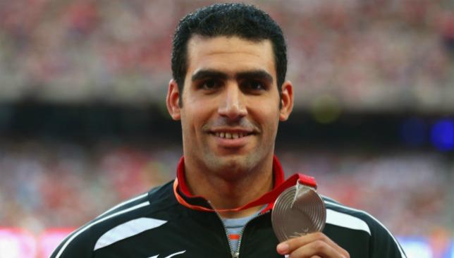 Rio in jeopardy: For Ihab Abdelrahman.