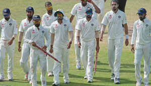 India won the first Test convincingly