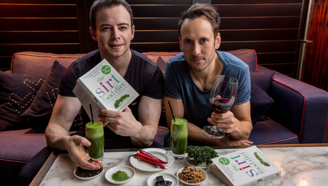 Sirtfood diet creators Aidan Goggins and Glen Matten.
