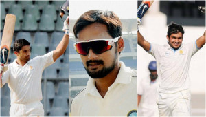 Three cricketers knocking on the doors of the Test team