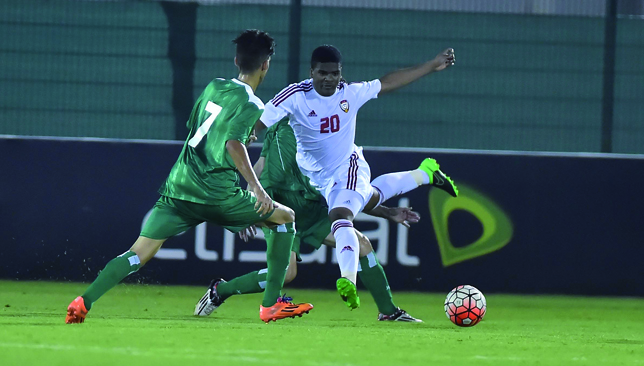 Painful preparations: UAE lost to Iraq.