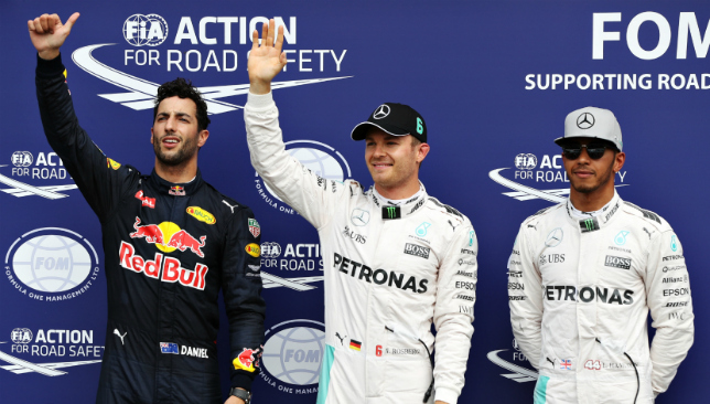 Nico Rosberg takes pole in German GP