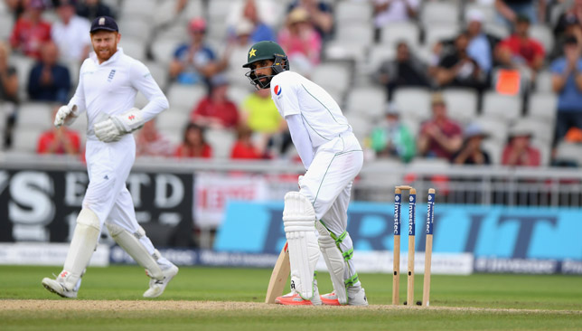Misbah (r) was the only Pakistan batsman to pass 50.