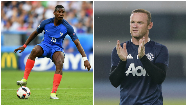 Aye  aye, captain: Pogba to bring out the best in Rooney?