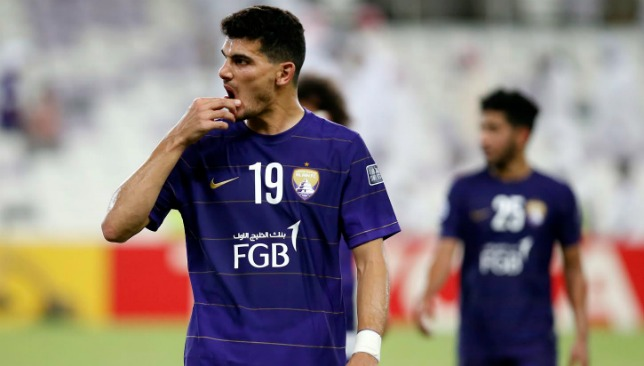 Al Ain were hampered by squad shortages.