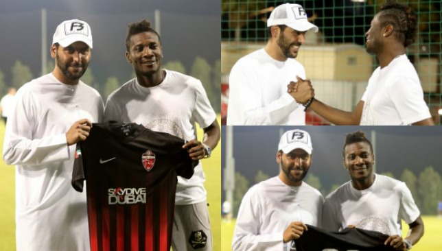 I am ready for Al Ahli challenge, says Asamoah Gyan