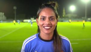 Horiya Al Dhaheri: UAE football pioneer.