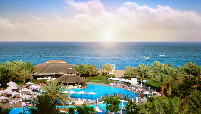 A serene stay: Fujairah Rotana Resort & Spa.