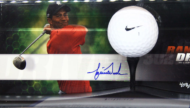 Market leader: Nike banked on Tiger Woods.