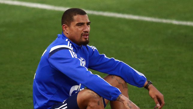 New arrival: Kevin Prince Boateng.