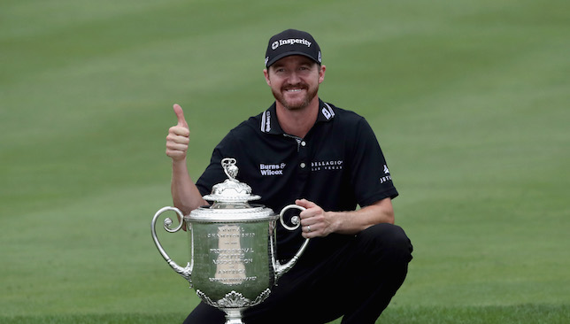 Jimmy Walker wins first major among friends